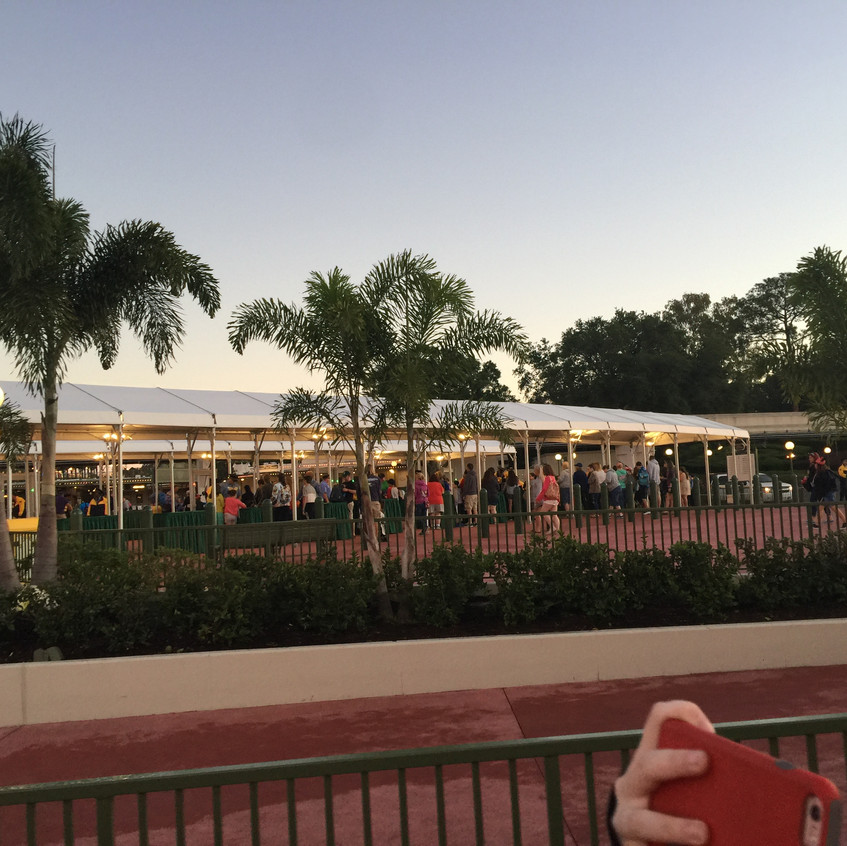 Disney resort guests that take the buses have their own security check!