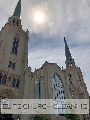 Church cleaning services in Tulsa