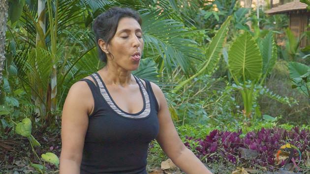 Cooling Breath [Sitali Pranayam]
