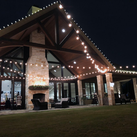 Outdoor Cafe Lighting