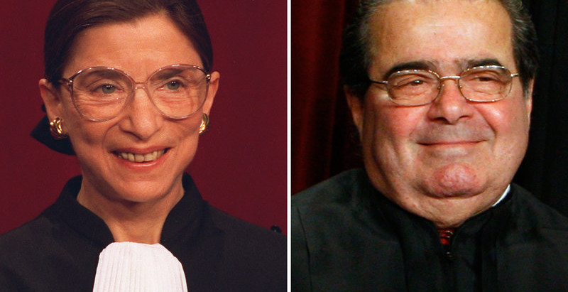 What the relationship between Ginsburg and Scalia can tell us about the possibilities for our future