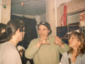 Director Steve Klein sets up a sequence.