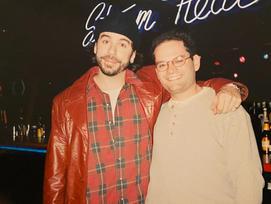 Greg Giraldo with Executive Producer Will Kohane