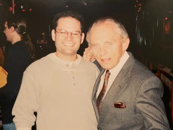 Executive Producer Will Kohane and the legendary Frank Gorshin