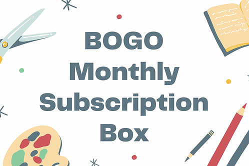Buy One Subscription Box Get One Half Price