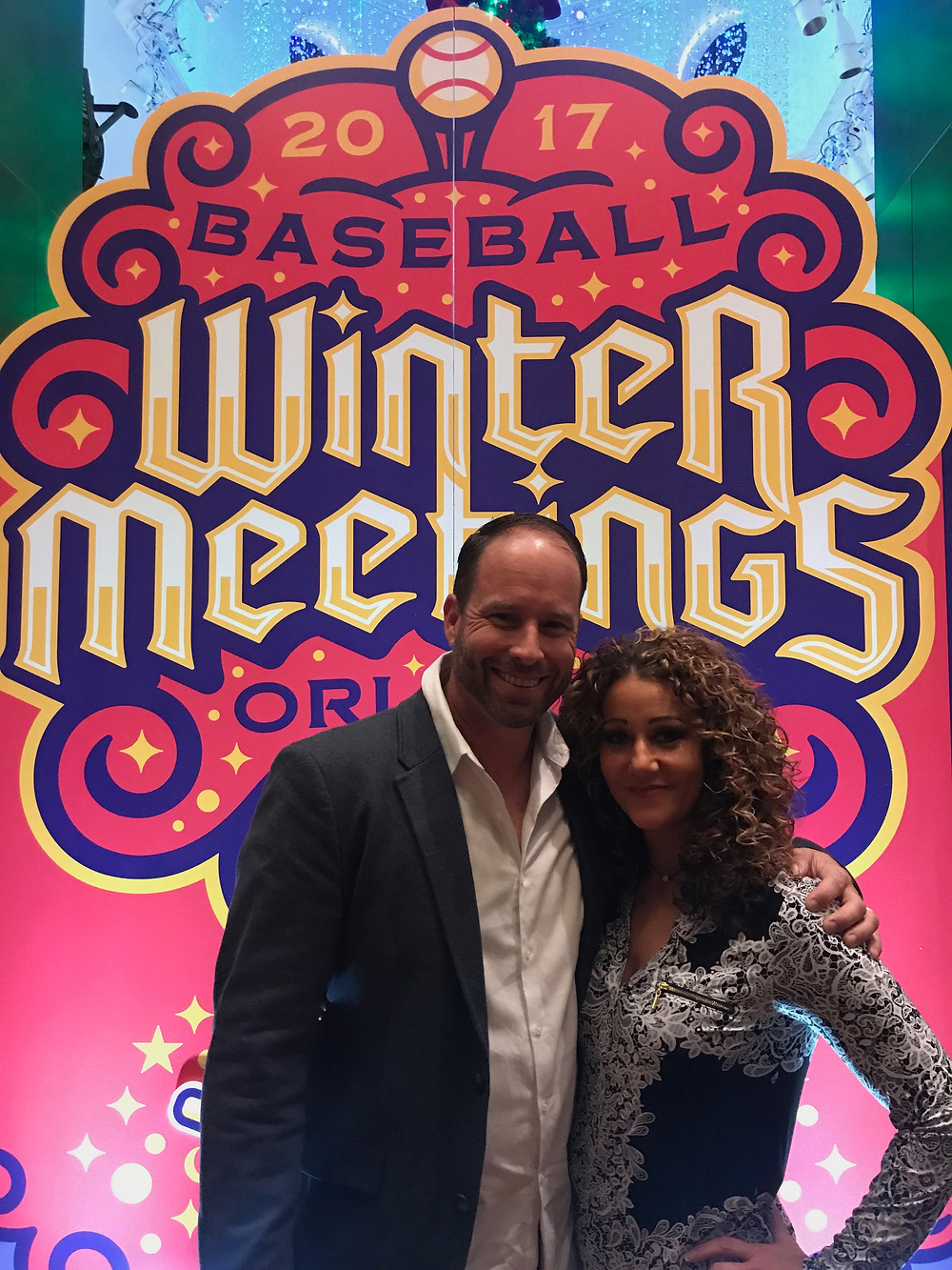 Shea and Shirley at the Winter Meetings 2017