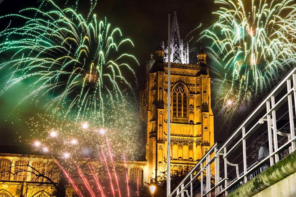 Fireworks Night in Norwich