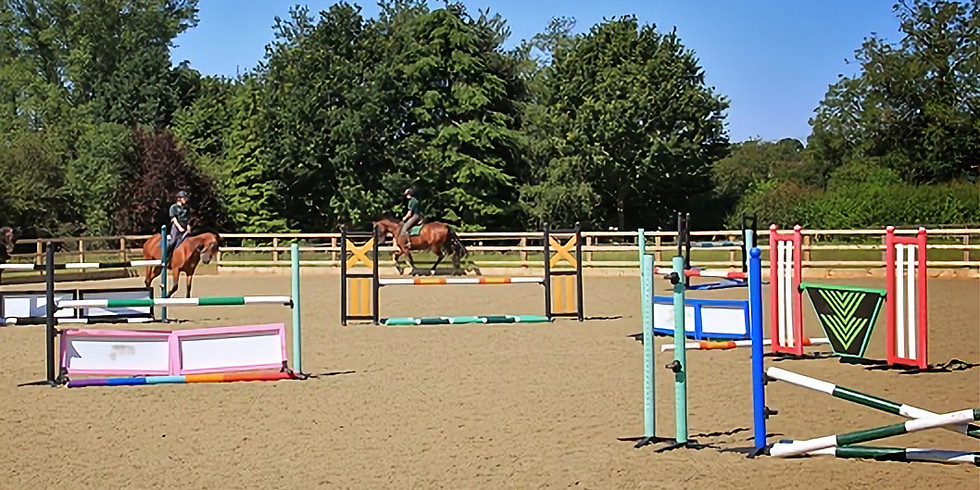 Jumping a Course with Susie Pilbeam - 80-100cm