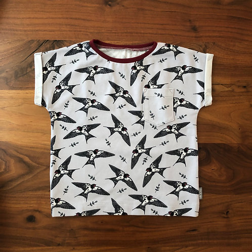 Shirt Schwalben Bio