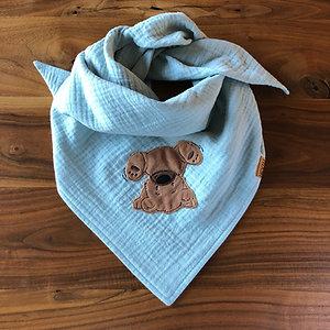 Musselin Halstuch Purzelbär