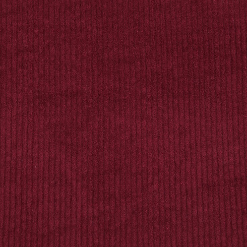 Washed Cord Stretch bordeaux