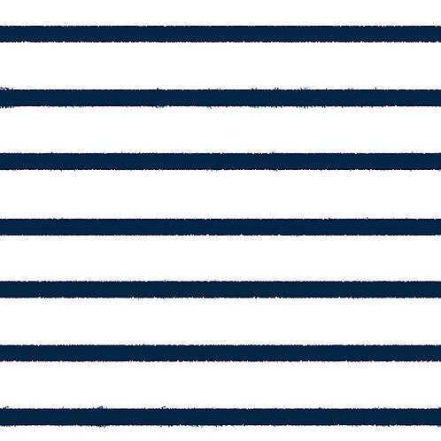 Bio Jersey Streifen navy