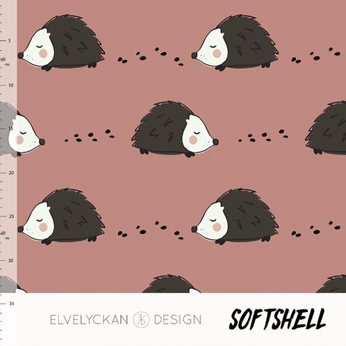 Softshell Igel Elvelyckan Design