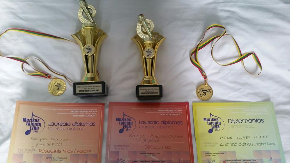 Награды Касьяна