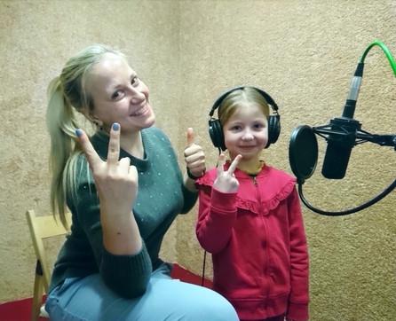 Пишем детей на студии