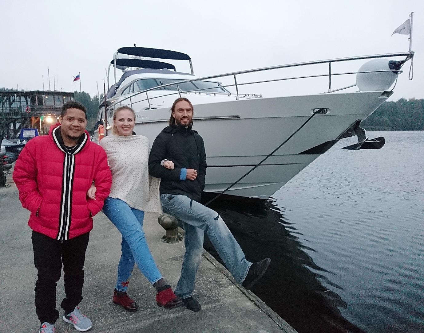 Триокей и яхты