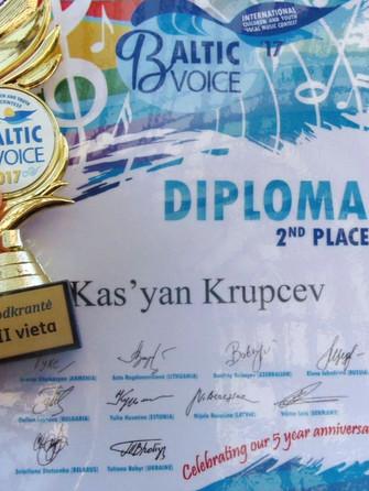 2 место Baltic voice