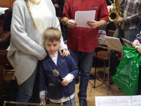 У нас значимое событие! Касьян Крупцев репетировал с оркестром.