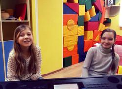 Уроки вокала у Маши и Насти