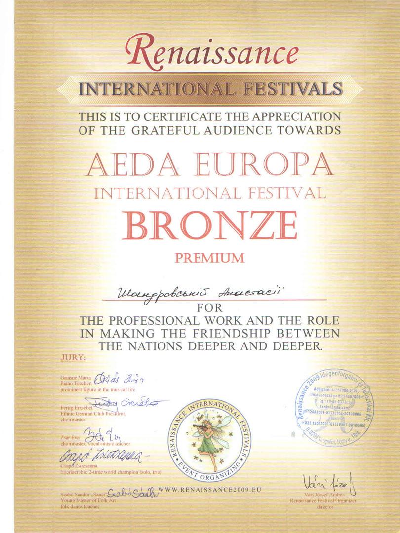 Bronza Aeda Europa