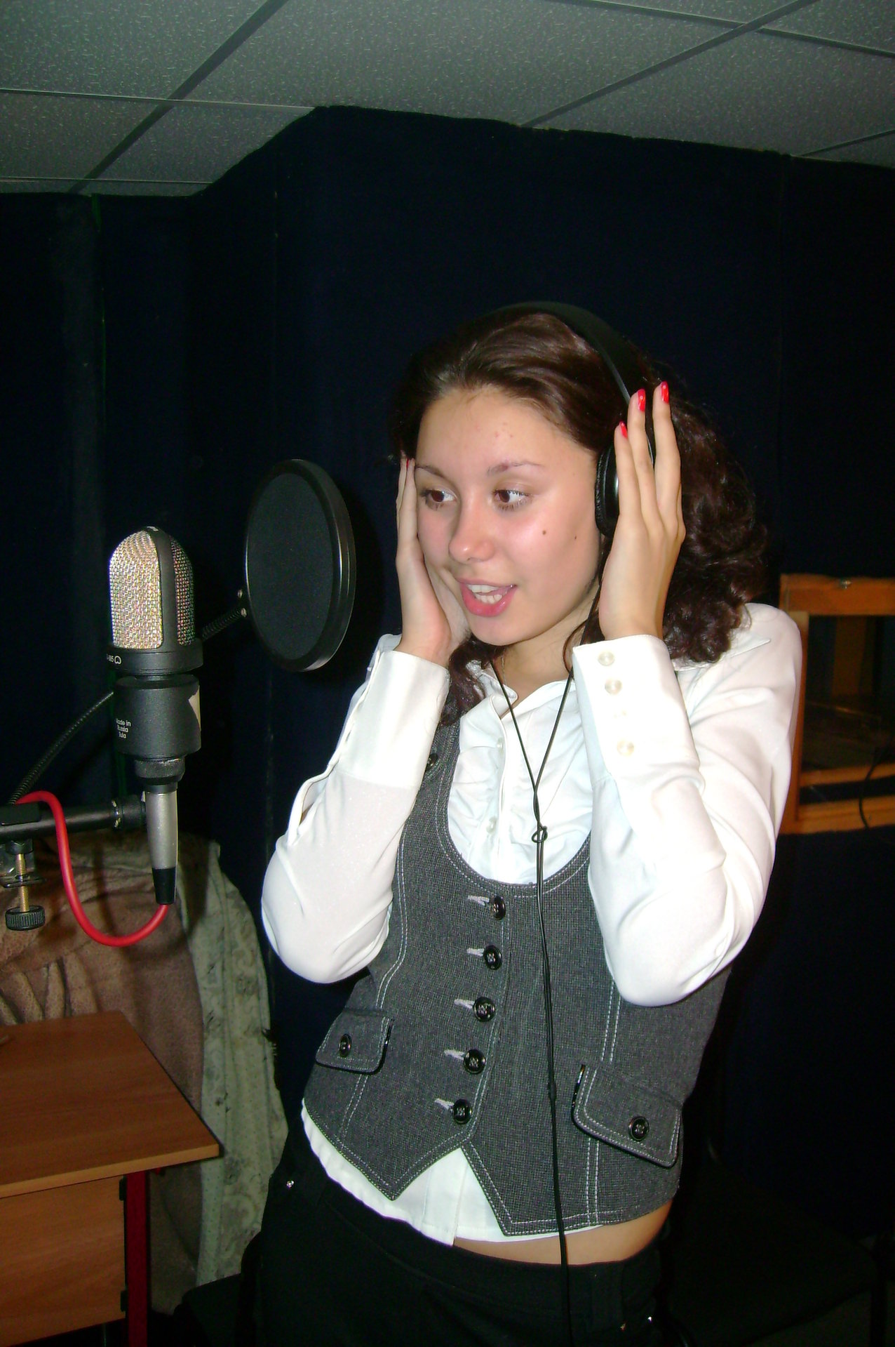 Запись на студии