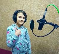 Запись вокала Таня
