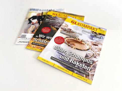 Projekt: Editorial Design, GL Kompakt