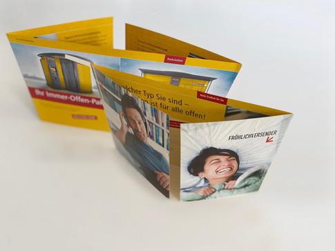Projekt: Mailing, Deutsche Post