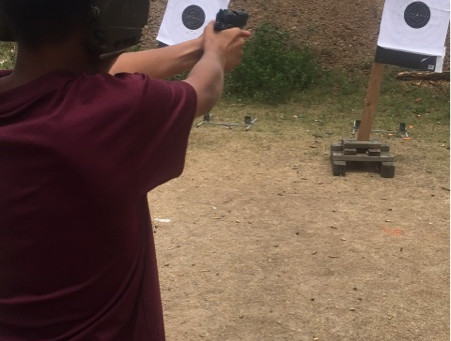Teen Handgun Training
