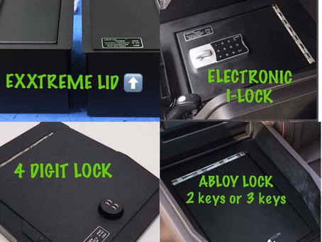 We are now authorized dealers for lock'erdown, featuring vehicle and home gun safes for your use.
