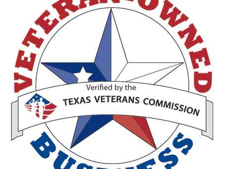 Defiance Tactical Shooting is now certified by the State of Texas as Veteran Owned Business
