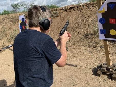 Advanced Handgun Training GRP 2- 4 Sept 2020