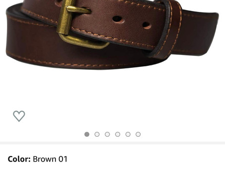 Great belt for everyday carry