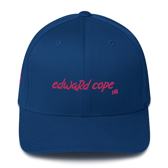 Edward Cope Structured Twill Cap (Hot Pink)