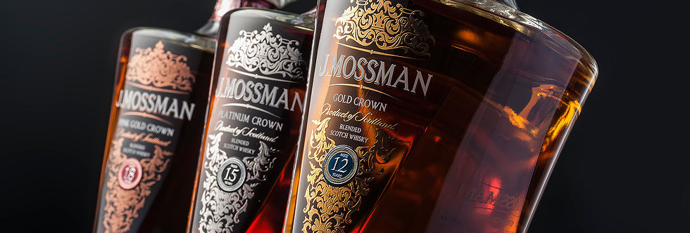 J. Mossman (15 years) Blended Scotch Whisky
