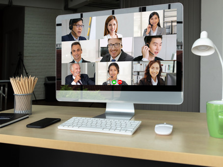 ARE YOU MAKING AN IMPRESSION AT YOUR ONLINE MEETINGS?