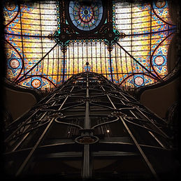 stained-glass-ceiling-in-the-interior-of