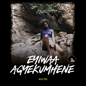 """EYIWAA AGYEKUMHENE IS THE FOUNDER OF GHANAIAN FASHION BRAND 'KAYADUA', WHOSE EYE-CATCHING BAGS + STATEMENT NECKPIECES HAVE RECENTLY BEEN CAPTURING THE ATTENTION OF THE FASHION WORLD./   IT'S A LABOUR OF LOVE FOR EYIWAA, WHO CREATED THE BRAND IN 2018, AFTER GRADUATING FROM KWAME NKRUMAH UNIVERSITY OF GHANA JUST A YEAR BEFORE./  THE BRAND TAKES A SLOW FASHION APPROACH, WITH KAYADUA PIECES OFTEN BEING MADE BY HAND + TAKING ANYWHERE FROM ONE DAY TO ENTIRE WEEKS OF PRODUCTION TIME./   BUT THE BRAND IS ABOUT MUCH MORE THAN INTRICATELY-CRAFTED PIECES./  EYIWAA WANTS TO USE THE BRAND AS A FORCE FOR CHANGE, HONOURING THE LEGACY OF THE ELDERS IN GHANA, WHILE ALSO INSPIRING YOUNGER GENERATIONS TO EXPRESS THEMSELVES CREATIVELY./  """"I SEEK TO ENCOURAGE CONFIDENCE, WHILST TELLING STORIES THROUGH THE PIECES WE MAKE,"""" SHE SAYS, UNDERLINING HER DESIRE FOR THE PIECES THEMSELVES TO BECOME STORYTELLERS./    BASED IN ACCRA, THE CAPITAL OF GHANA, WE ASKED EYIWAA TO SHARE ONE OF HER FAVOURITE PLACES IN + AROUND THE CITY...    //"""