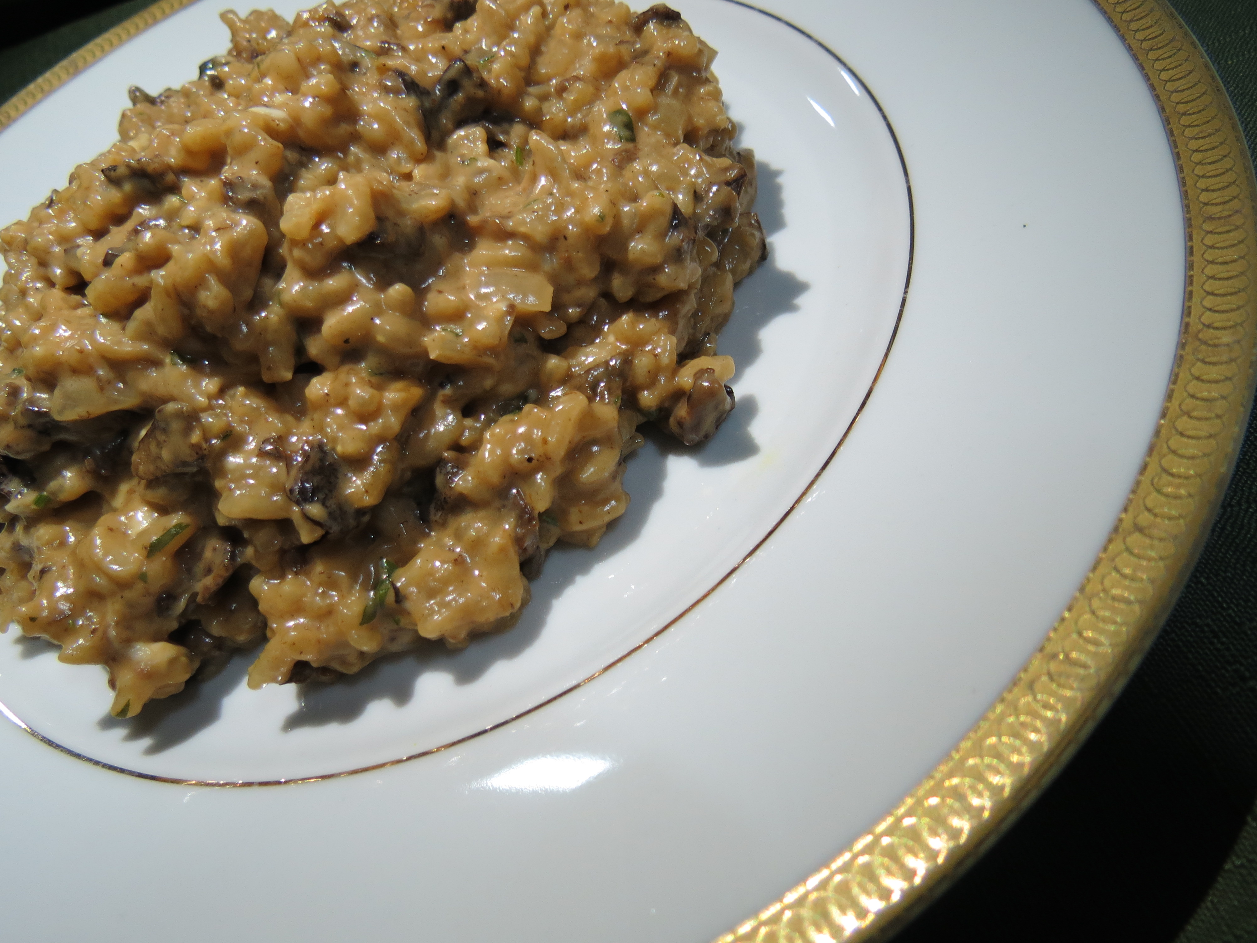 risoto de funghi