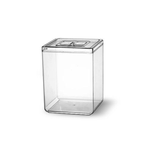 Pote Acrílico Quadrilatero 10 litros