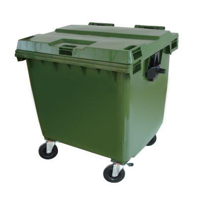 Container 1.000 litros com rodas