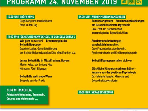 Tag der Selbsthilfe am Sonntag 24. November im Wiener Rathaus