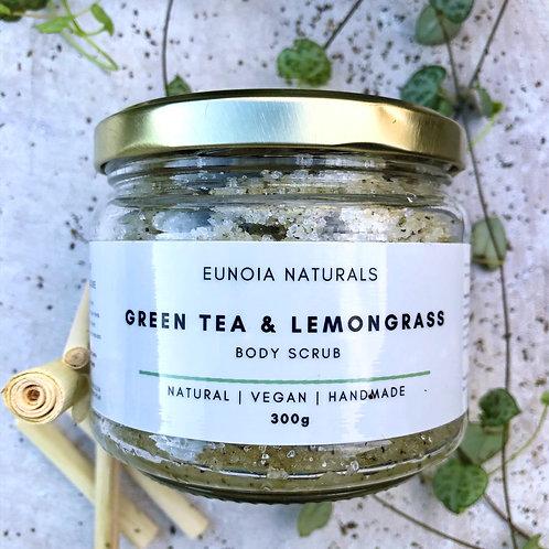 Green Tea & Lemongrass Body Scrub