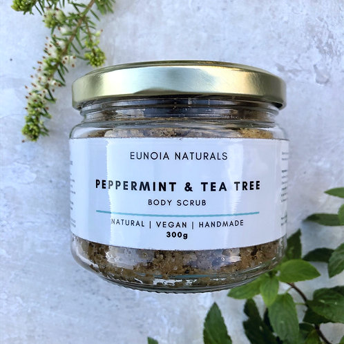 Peppermint & Tea Tree Body Scrub