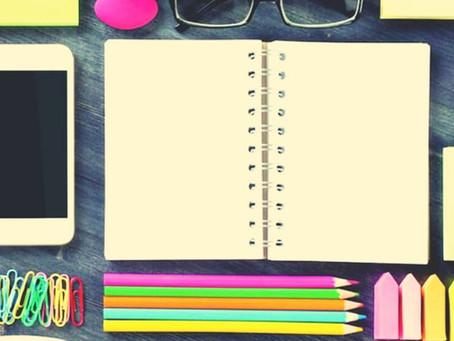 Como funciona a organização pessoal de um escritor?