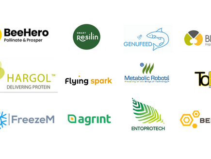 14 Israeli Innovative Insect related companies