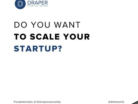 Fundamentals of Entrepreneurship at Draper Startup House Manila