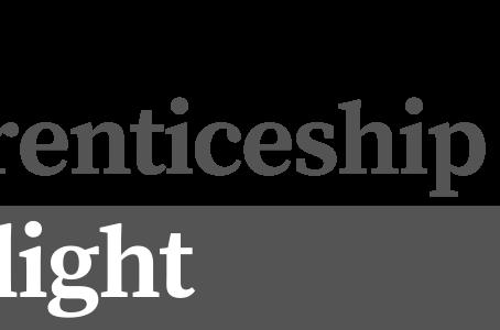 Apprenticeship Spotlight: April 2020