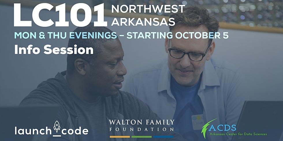 LC101 Northwest Arkansas Info Session