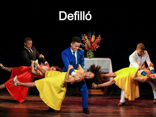 Dramaturgia de la danza. Texto espectacular. Defilló